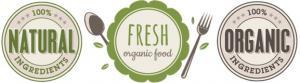 Natürliche Lebensmittel, Organische Lebensmittel