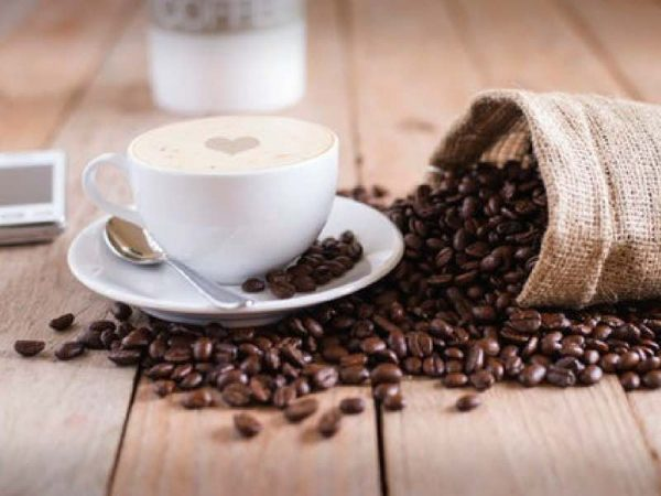 Kaffee Arabica Bohnen und einem Hauch Robusta