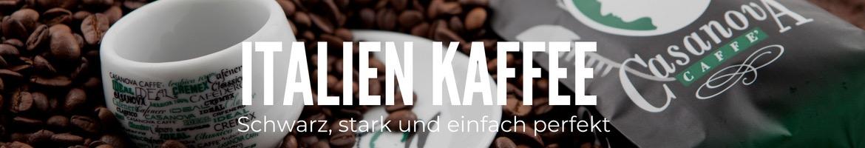 Kaffee aus Italien, Espressobohnen, Arabica.