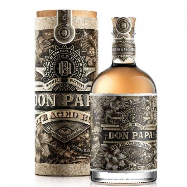 Don Papa Rye Cask ► Rum   GREEKCUISINEmagazine